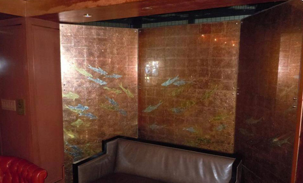 Custom Painted Glass Cover